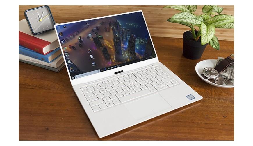 Trên tay Dell XPS 13 vỏ vàng ruột trắng, mỏng hơn, cấu hình mới, pin lâu